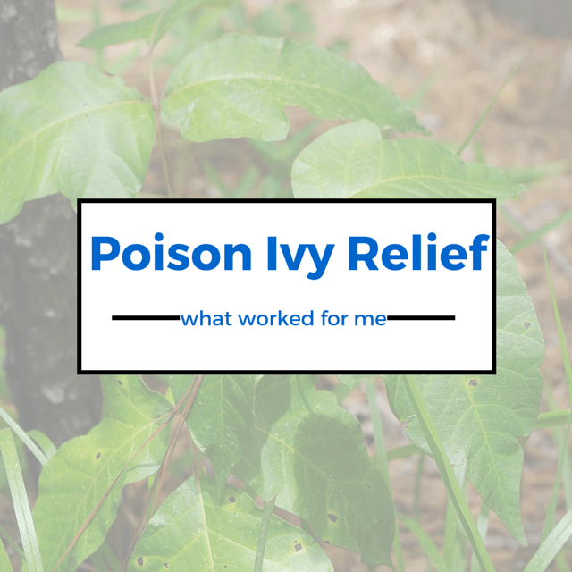 Poison Ivy Relief