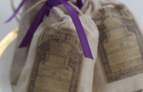 DIY Lavender Sachet with Free Printable