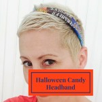 Halloween Candy Wrapper Headband