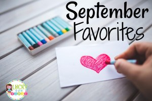 September Must-Haves!