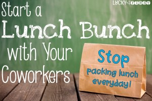 Lunch Bunch with Your Teacher Friends
