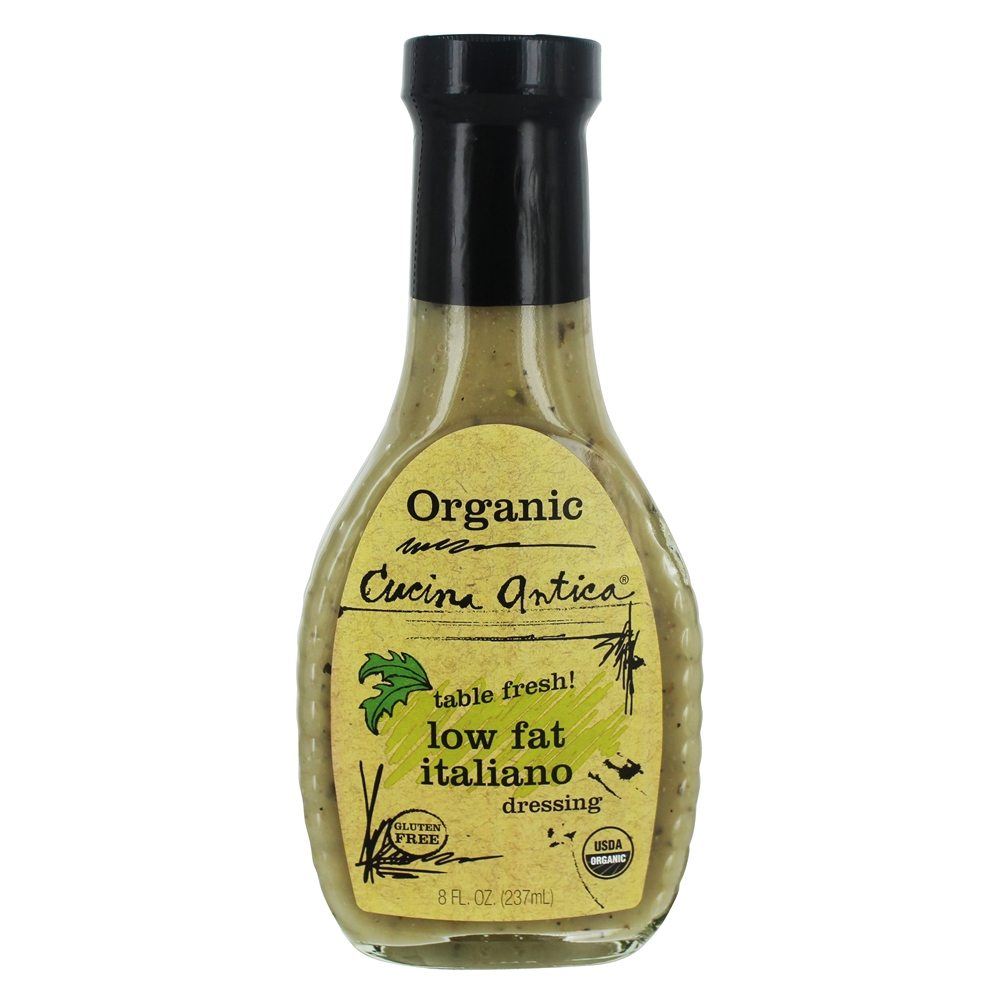 Cucina Antica Tomato Ketchup Organic Low Fat Italiano Dressing 8 Fl Oz By Cucina Antica