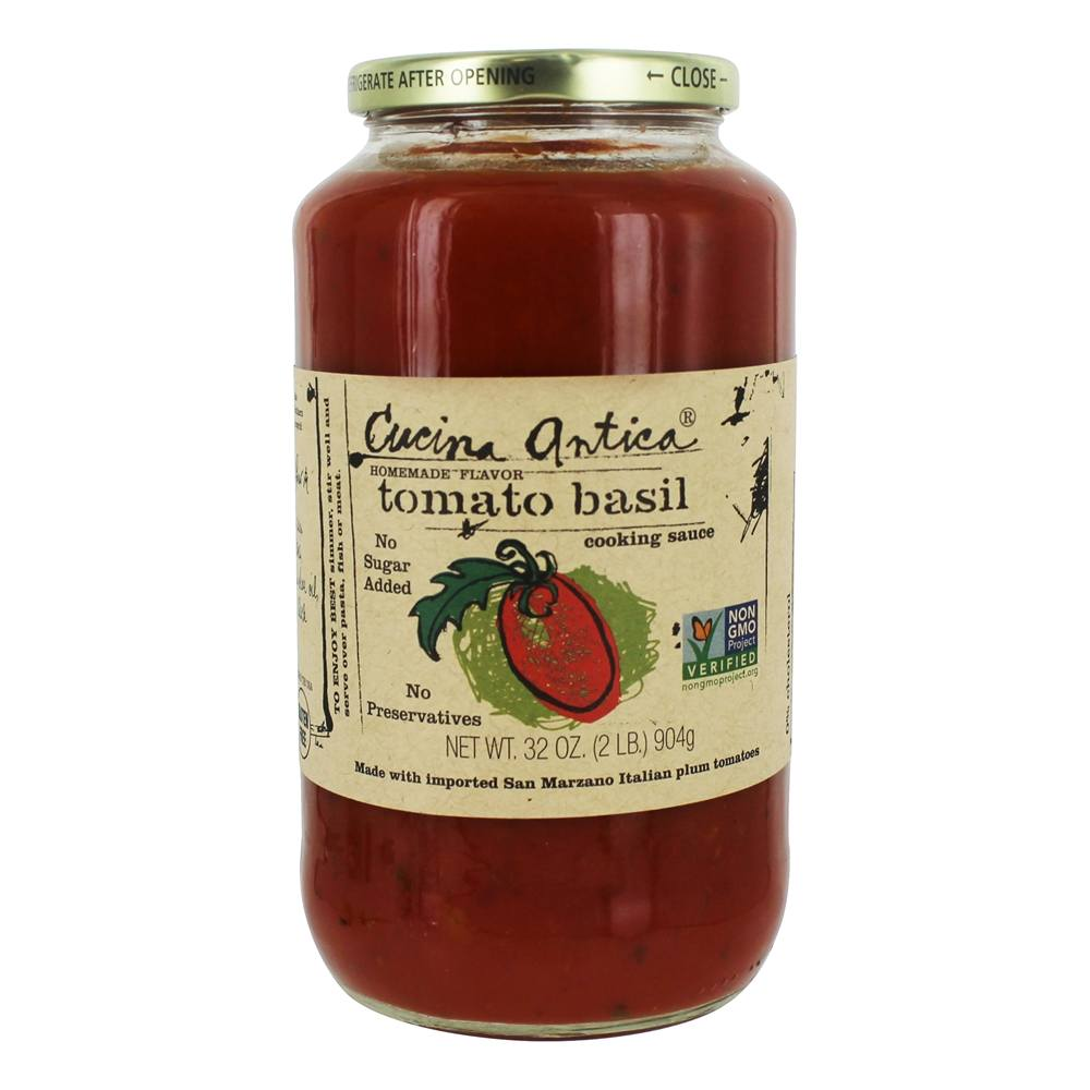 Cucina Antica Sauce Buy Cucina Antica All Natural Tomato Basil Cooking Sauce 32 Oz