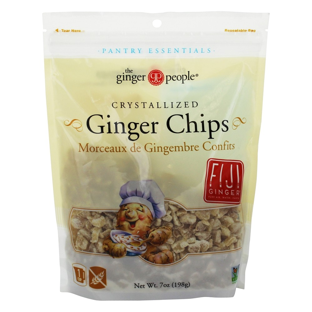 Chips Bestellen Kristallisierte Ingwer Chips 7 Oz Durch Ginger People