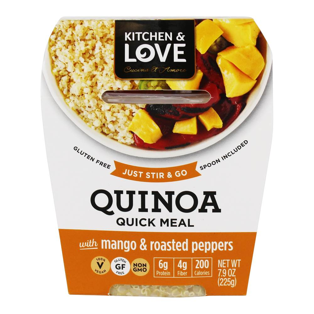 Cucina & Amore Piquillo Peppers Buy Kitchen Love Gluten Free Quinoa Quick Meal Mango Roasted