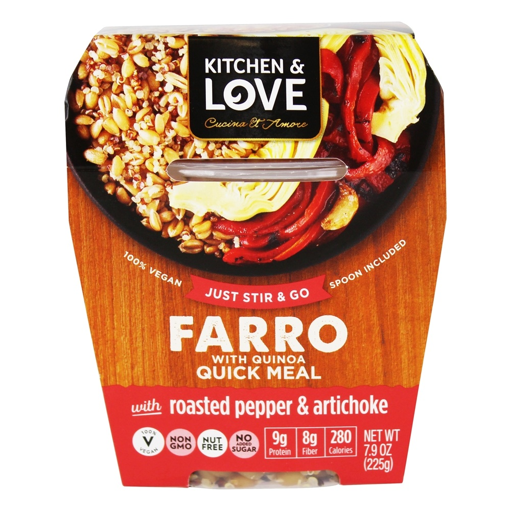 Cucina & Amore Piquillo Peppers Buy Kitchen Love Farro With Quinoa Quick Meal Roasted Pepper