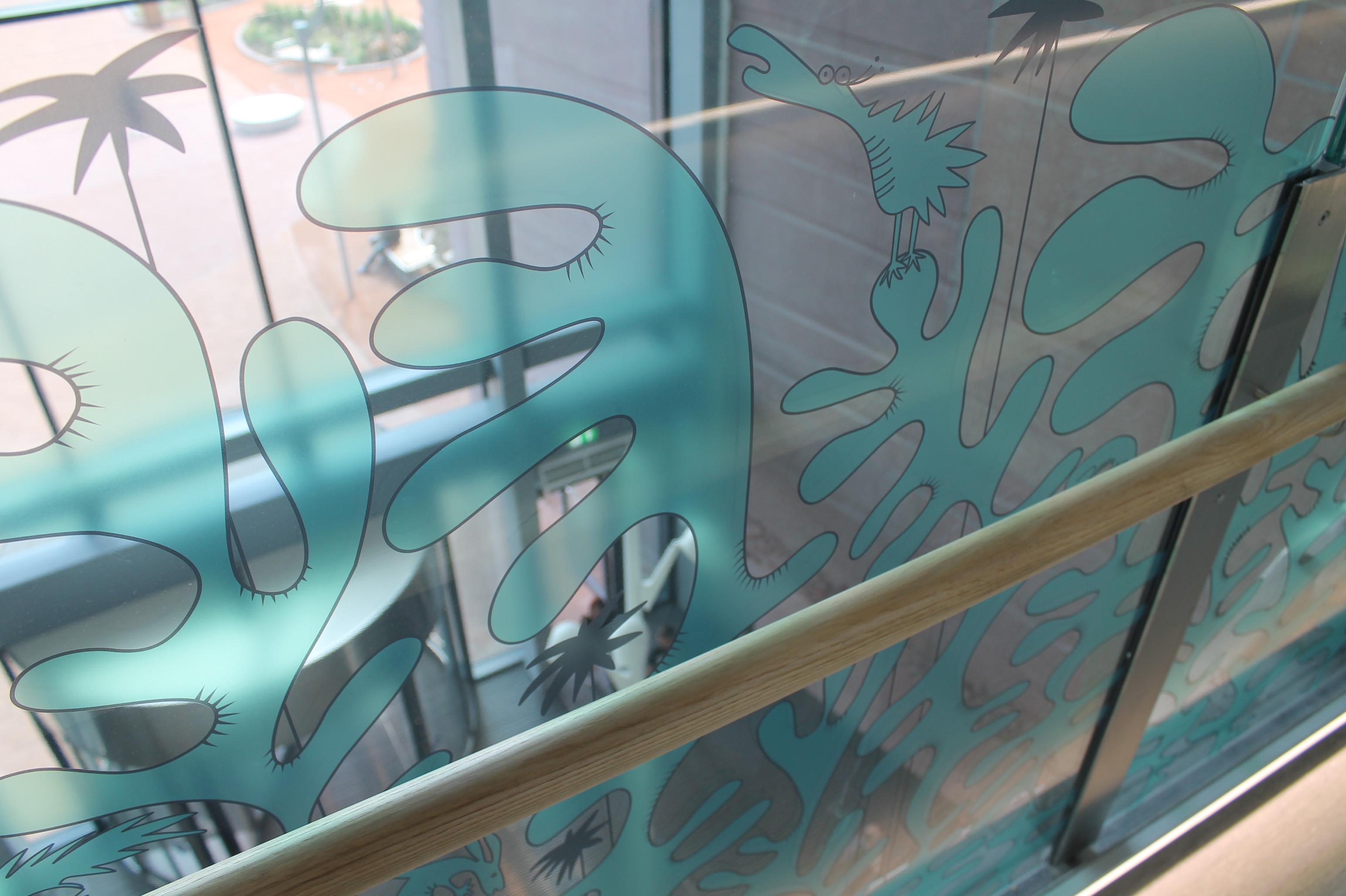 walkway glass
