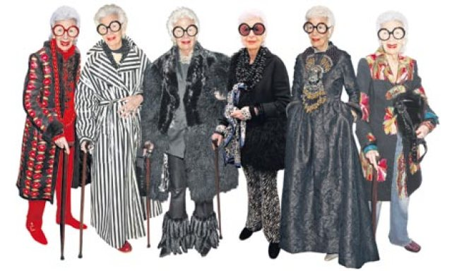 Iris Apfel, 90-year-old New York fashion icon