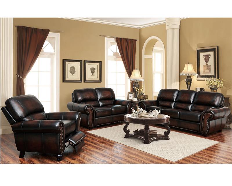 El Dorado-PFC Leather Top Grain Living Room Sale - el dorado living room sets