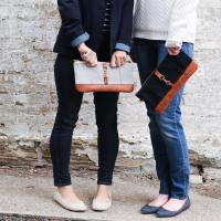 Lucy Jane Canvas + Leather Collection