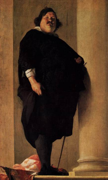 Charles Mellin. Portrait of a Gentleman. ~1630. Portrait is in the public domain in the United States.