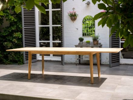 Alexander Rose Roble Holz Ausziehtisch Extending Table - Roble Holz