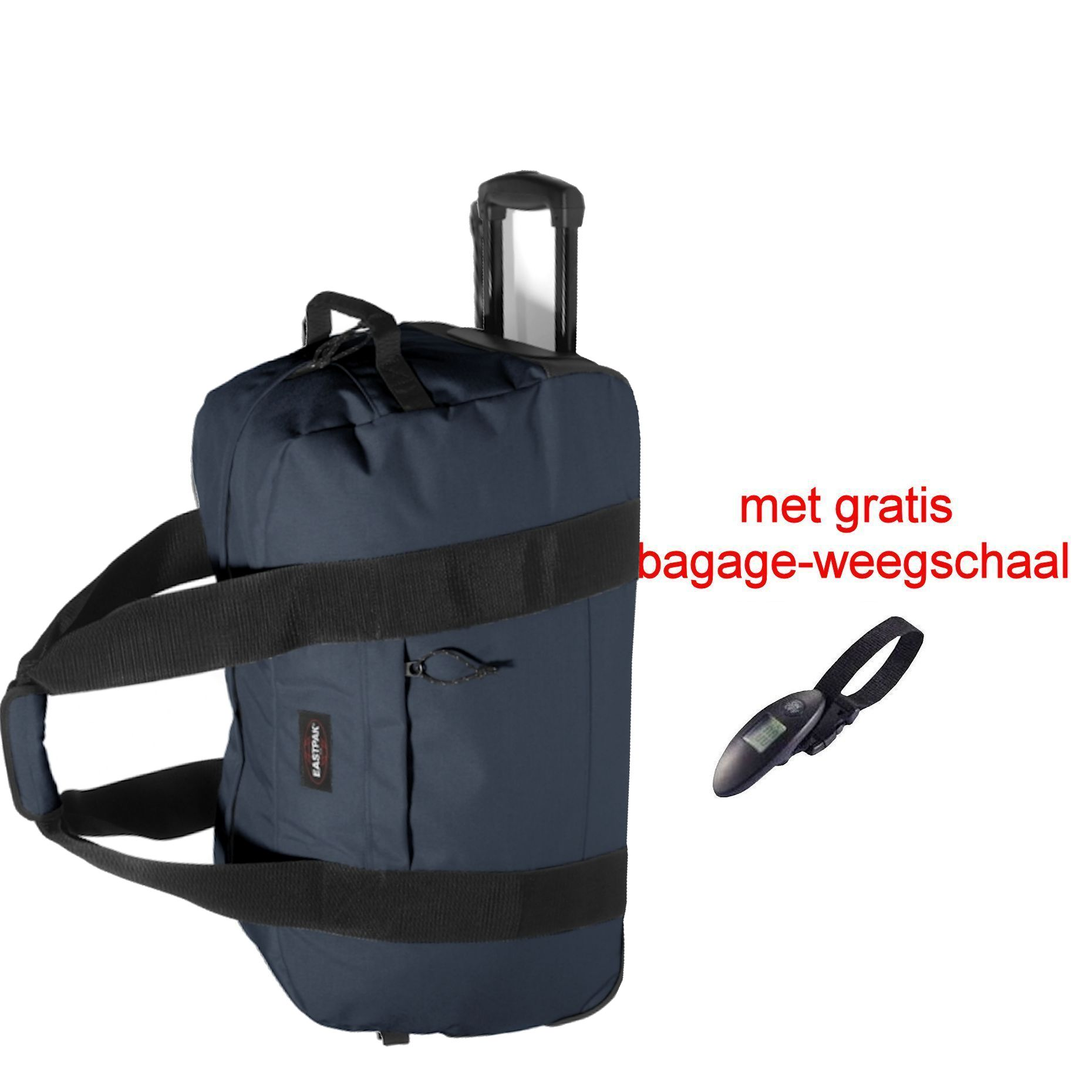 Reistas Op Wielen Eastpak Container 65 Authentic Wieltas Midnight Gratis Weegschaal Luggage 4 All