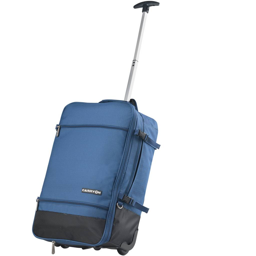 Rugzak Trolley Carry On Daily Rugzak Trolley Backpack Blauw Luggage 4 All