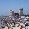 Rosarito Beach at spring break. ©Baja Tourism