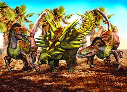 Walking With Dinosaurs 3d Wallpaper Gastonia Utahraptor Colorp Copy Copy Luis V Rey Updates