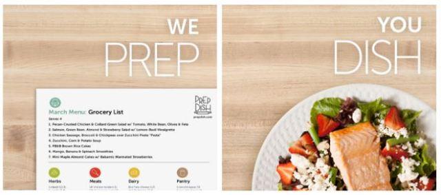 Prepdish, food pred, gluten free