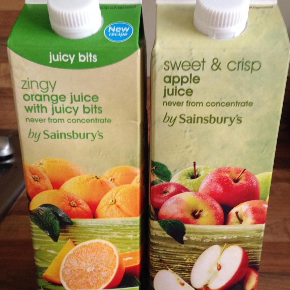 sainsburys doing a fine job of making apple juice lookhellip