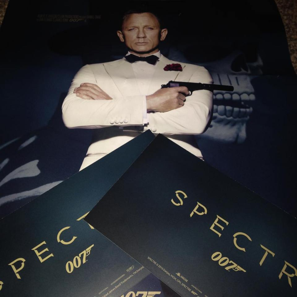 Great night out watching SPECTRE 007