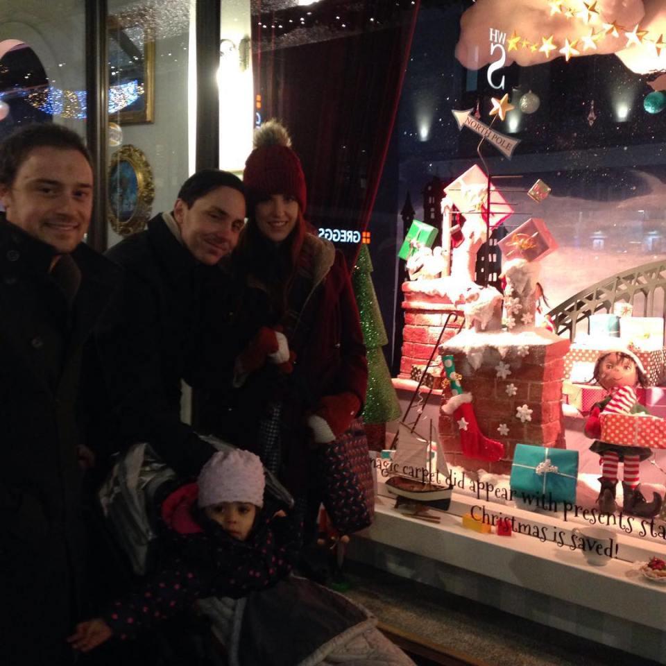 Vani and family at Fenwick Window