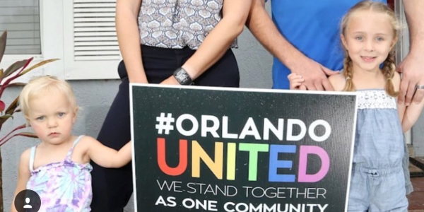 #Orlando United We Stand Together As One Community