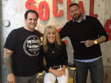 Rick with Laura McIntosh and Luke Wessman at NYC Food and Wine Fest 2012