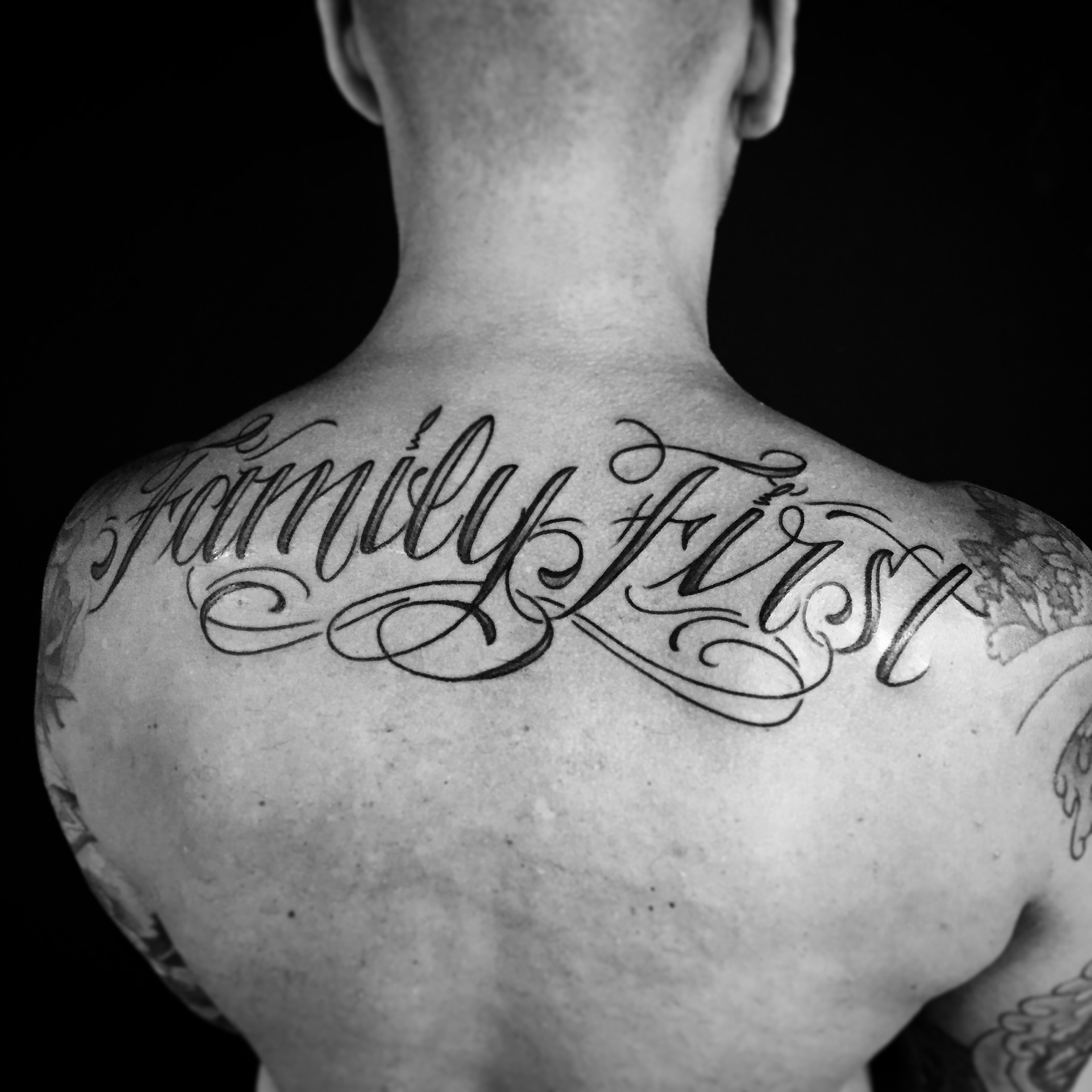 Calligraphy Tattoo Artist Toronto Tattoos Luke Wessman Self Made Tattoo Artist Luke Wessman