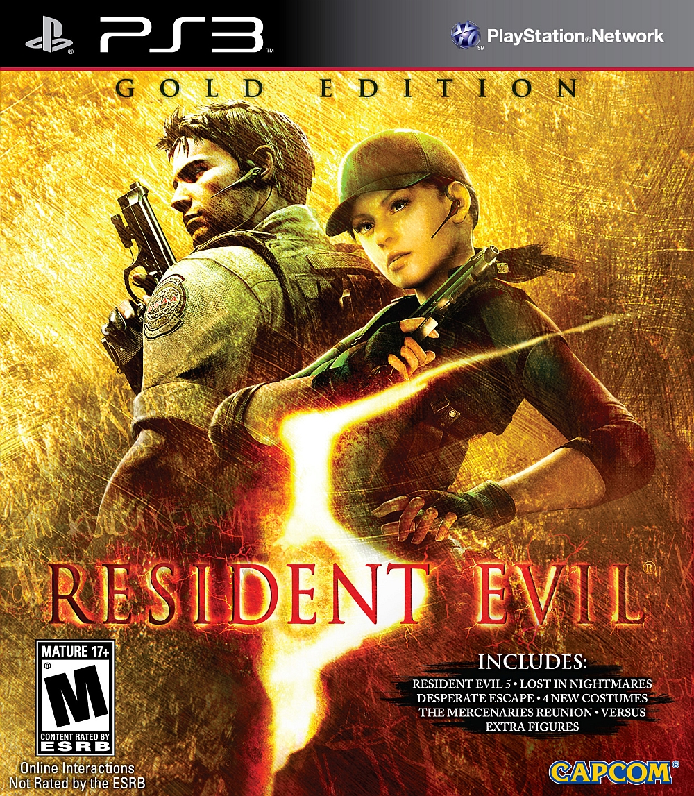 Edition For Ps3 Resident Evil 5 Gold Edition Playstation 3 Game