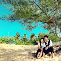 Prewedding Winda n Yogi @Slopeng Beach