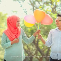 DIDIT + WILLA PREWEDDING HIJAB SIMPLE