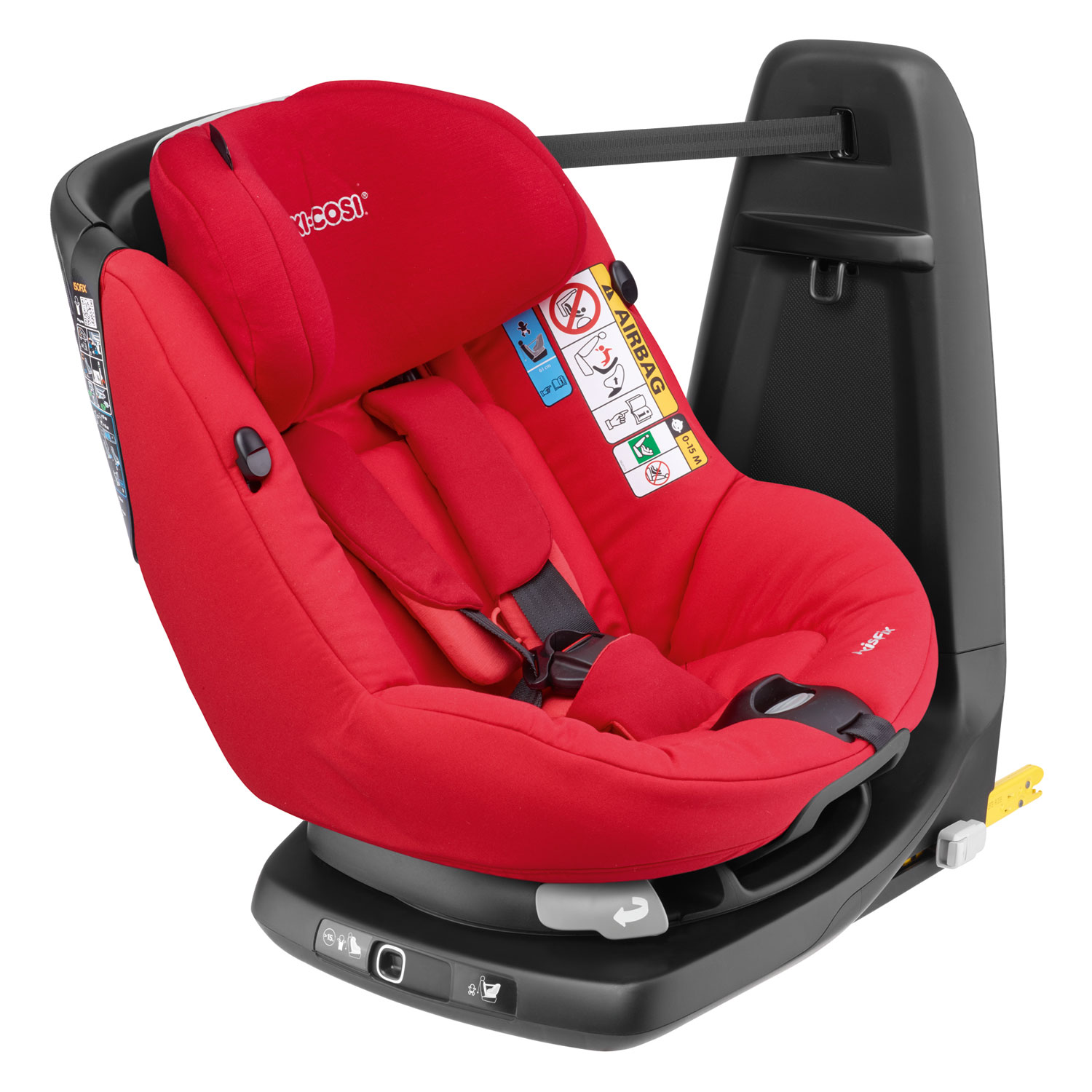 Silla Quinny Yezz Maxi Cosi Axissfix Origami Red Lullaby