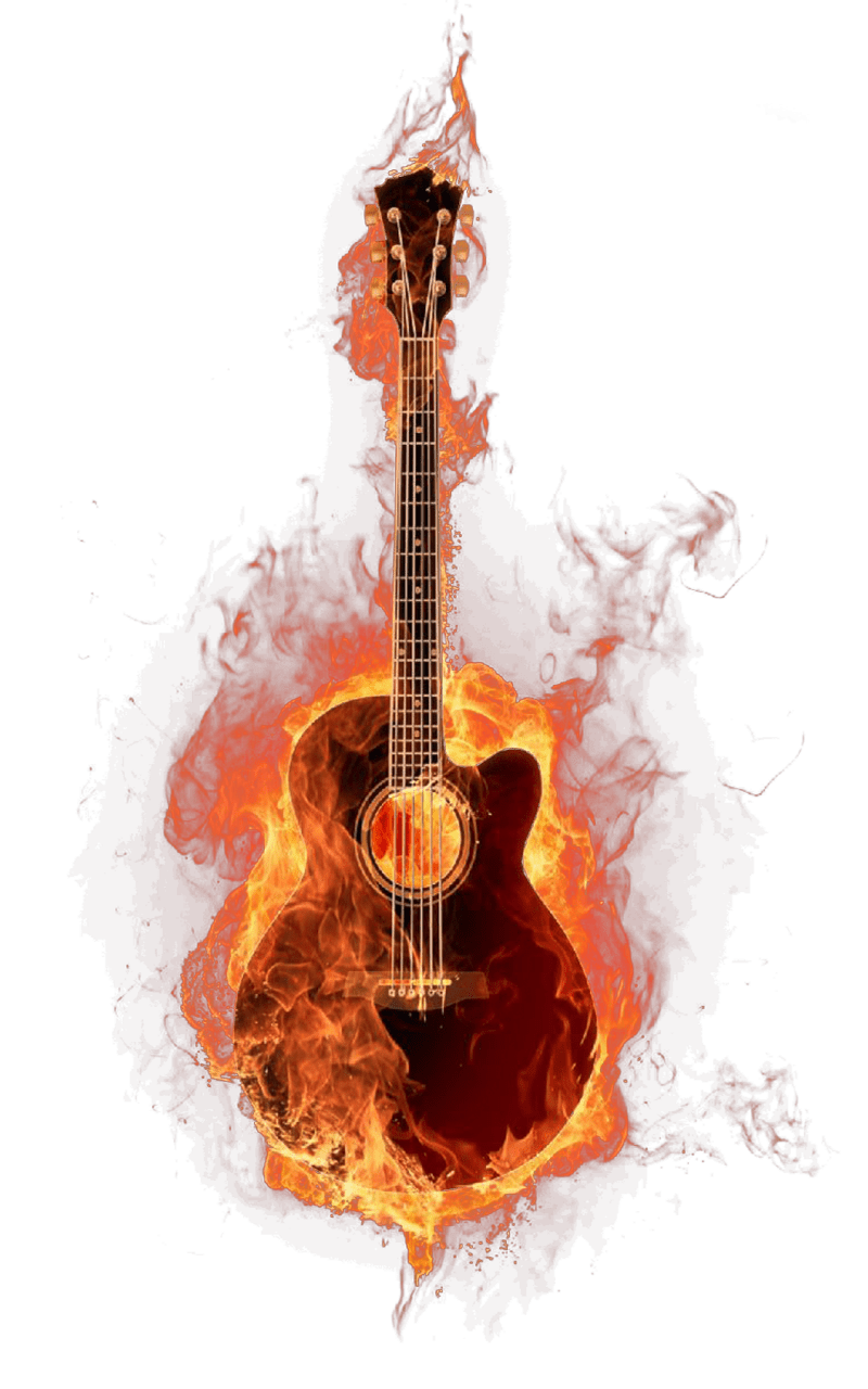 Guitar And Girl Wallpaper Tubes Feu Page 2