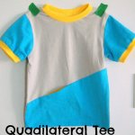 'S' is for Sewing blog tour: Quadrilateral Tee