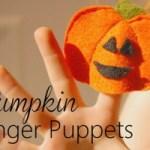 Tutorial: Halloween Finger Puppet