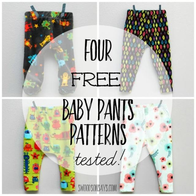 Free Baby Pants Sewing Patterns Tested