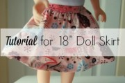 Tiered Doll Skirt Tutorial