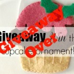 Sew Mama Sew Giveaway Day: Win a cupcake ornament!