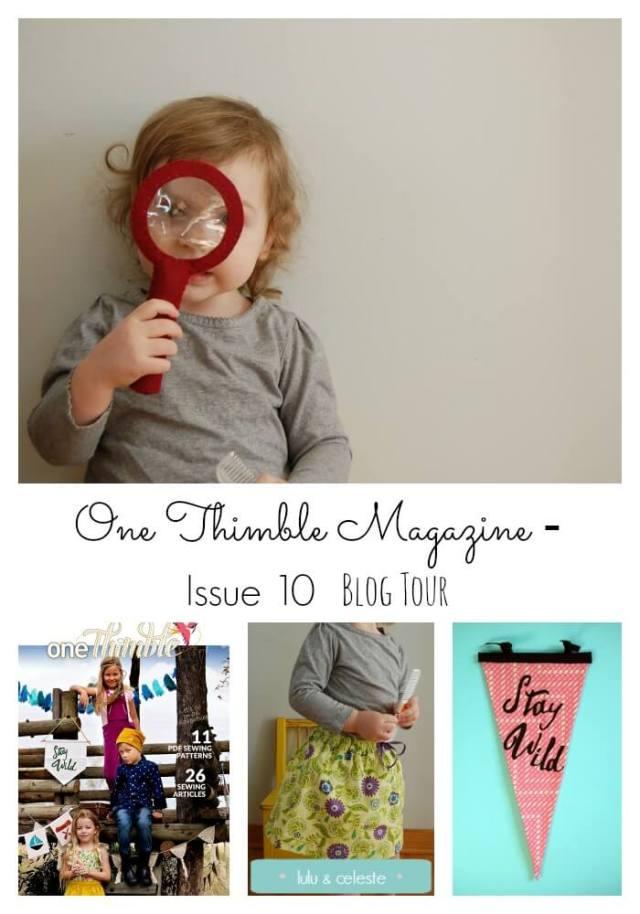 One Thimble Magazine Issue 10 Blog Tour