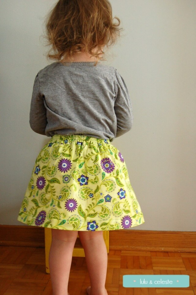 One Thimble Magazine Issue 10 Blog Tour - jolie skirt