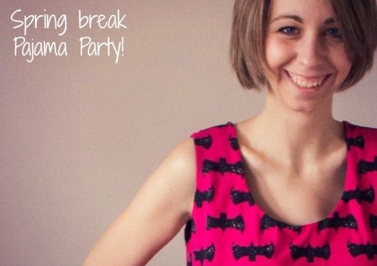 Spring Break PJ party Crafting Fiend