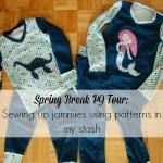 It's a Spring Break PJ Party!{Blog Tour}