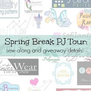 Spring Break pj tour prize details