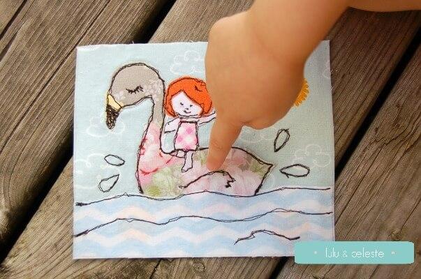 flamingo fma using digital stamp