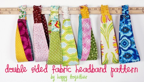 Double-Sided Fabric Headband
