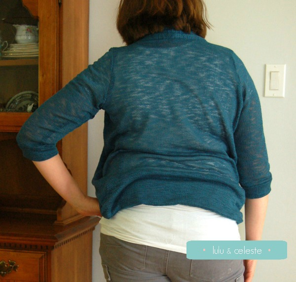 Sew Ready for Fall Tour: Julia cardigan with Stylish Fabrics