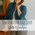 Stylish Sewing with Stylish Fabrics: Julia cardigan