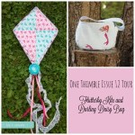 One Thimble Tour Issue 12: Flutterby Kite, Darling Daisy bag and more