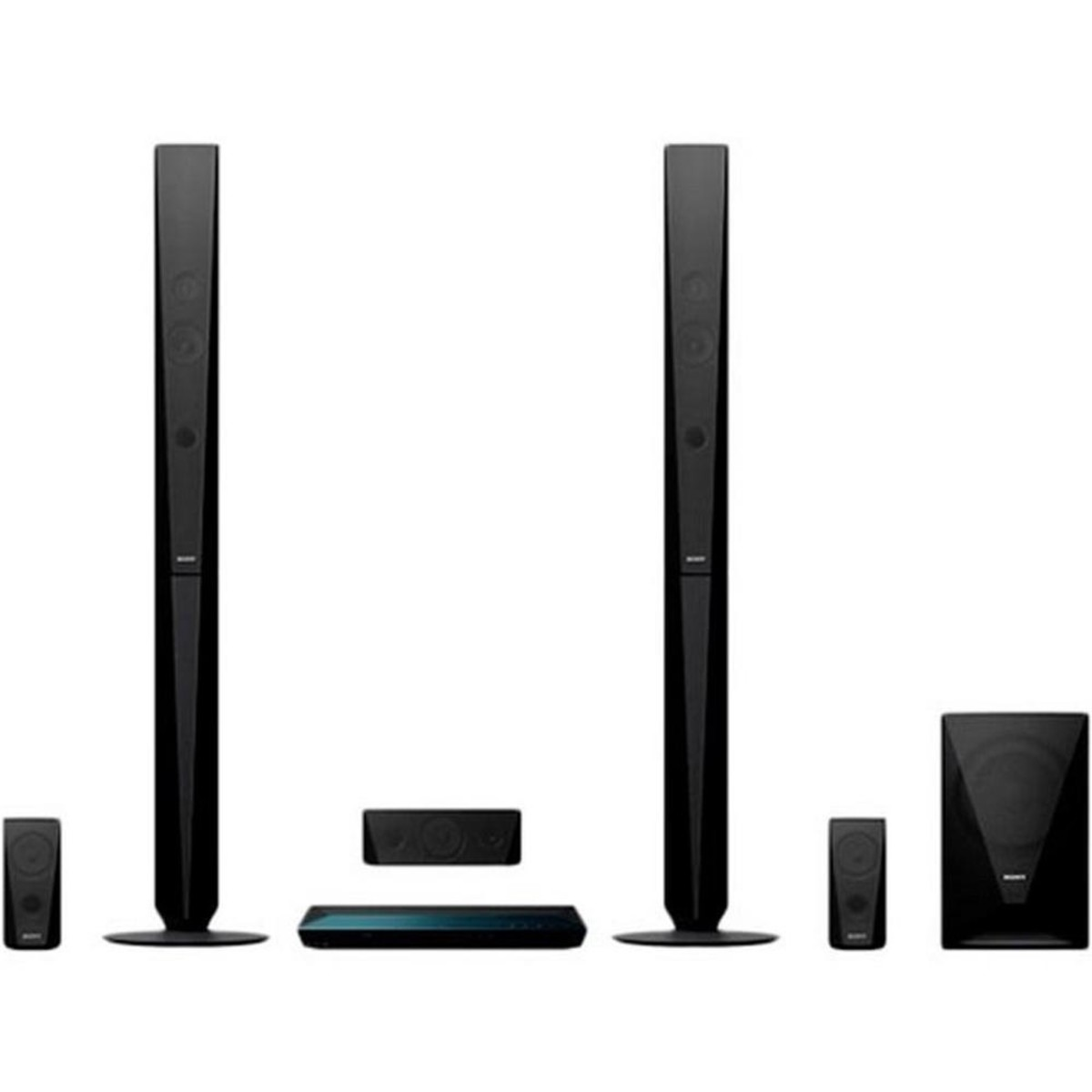 Black Point System In Qatar Buy Sony Blu Ray Home Theatre System Bdve4100 Online