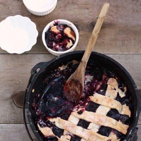 summer fruit desserts pie blackberry