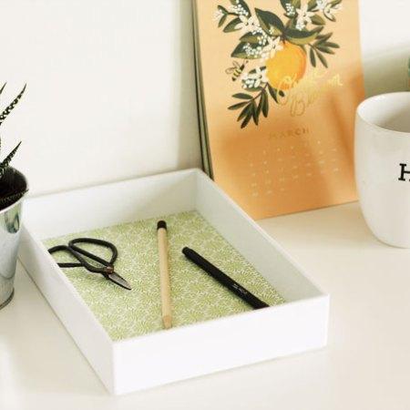 DIY-paper-line-desk-tray